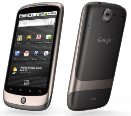 Nexus One, коммуникатор от HTC
