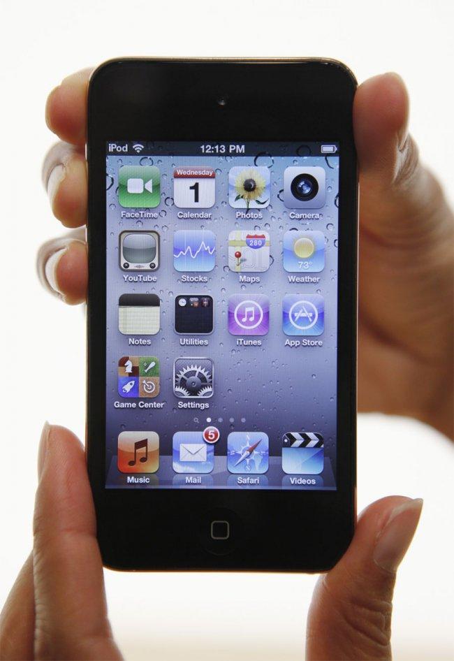 Фото iPod Touch с памятью 64Гб