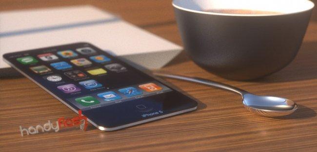 Концепт смартфона iPhone 5