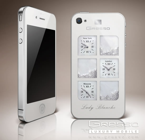 Gresso объявил о выпуске iPhone4G Lady Blanche