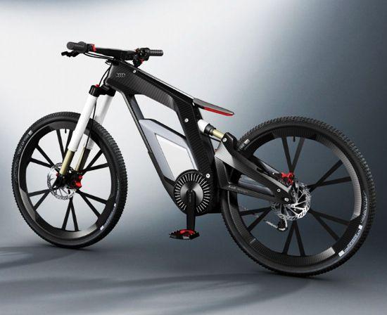 Электронный e-bike от Audi позволяет выкладывать фото в сеть, не слезая с седла