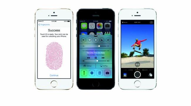 Фотографии новой линейки iPhone 5S/5С